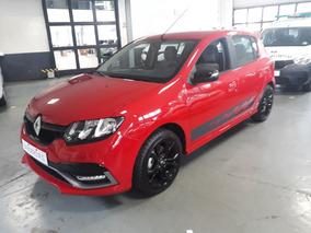Renault Sandero Rs Rojo - Anticipo Tasa 0% (rt)