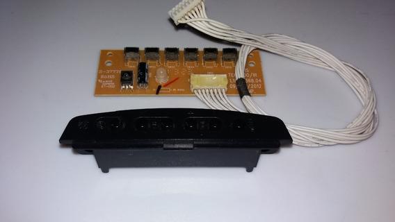 Sensor + Teclado (botões) 1.10.73368.04 P/ Cce Ln244