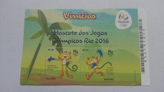 Selos Baixou Da Olimpíada Rio 2016 - Mascote Vinicius