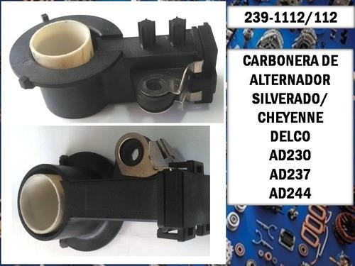 Carbonera De Alternador Delco Silverado Cheyenne X5 Und 112
