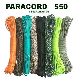 Paracord 550 Original 10 Metros - Frete R$ 18,00 P/ Até 5 Pç