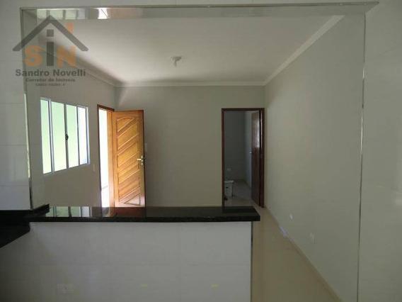 Casa Com 2 Dormitórios À Venda, 60 M² Por R$ 220.000 - Jardim Itapuã - Itaquaquecetuba/sp - Ca0092