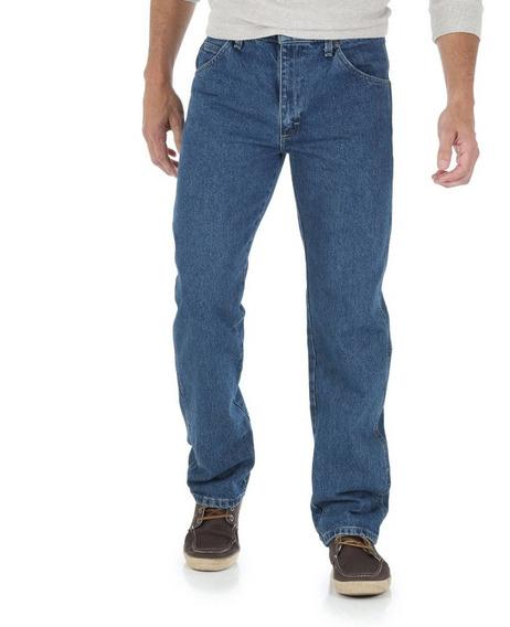 Pantalon Mezclilla Hombre Alto 29x34 Wrangler Relaxed Amplio