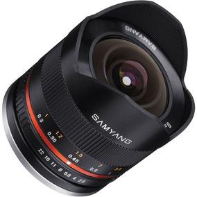 Lente Manual Samyang 8mm F/2.8 Fisheye P/ Fujifilm X Series