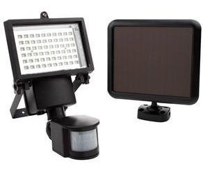 Luminária Solar - Refletor K 60 Com Sensor