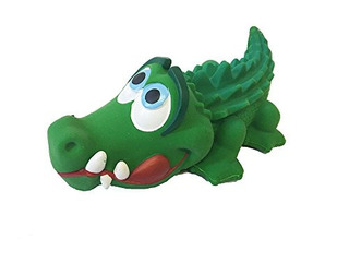 Crocodile Sensory Dog Toy Látex De Caucho 100% Natural Sin P