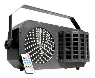 Par De Iluminacion Tecshow Powerbox 3 En 1 Strobo Led Lazer