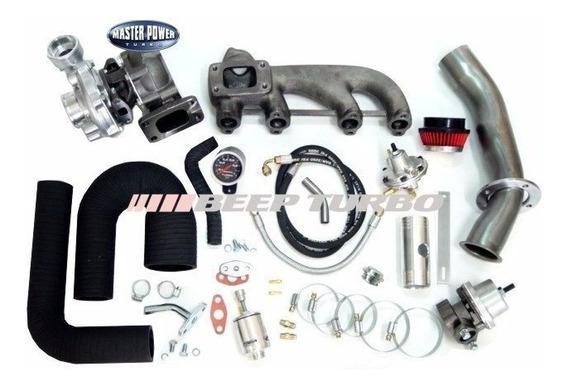 Kit Turbo Vw Ap Mi 1.6/1.8/2.0 Com A/c E D/h Com Turbina .42