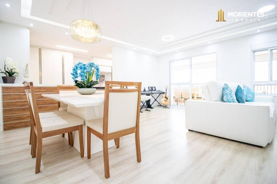 Apartamento Com 3 Dormitórios À Venda, 145 M² Por R$ 1.290.000 - Alta Vista Prestige - Anhangabaú - Jundiaí/sp - Ap0216
