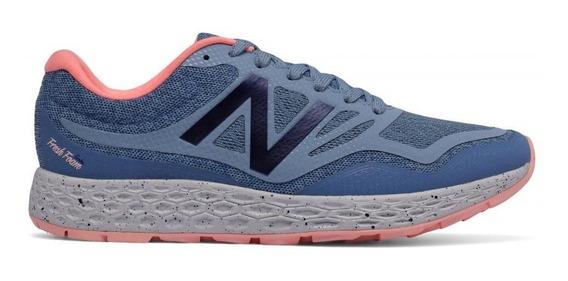 Zapatillas New Balance Running Mujer Wtgobigs Celeste Cli