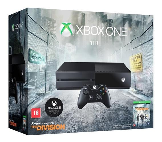 Xbox One 1tb 2 Controles 3 Jogos