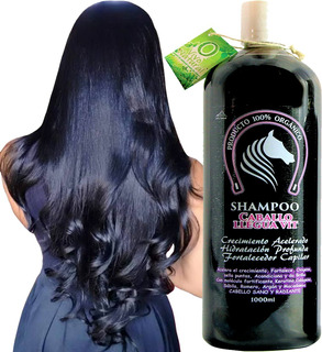 Shampoo Cola De Caballo Y Keratina Crecimiento Capilar 1000ml Envió Gratis