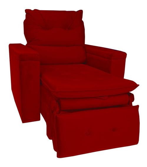 Poltrona Para Descanso Confortável Conforto + Cores