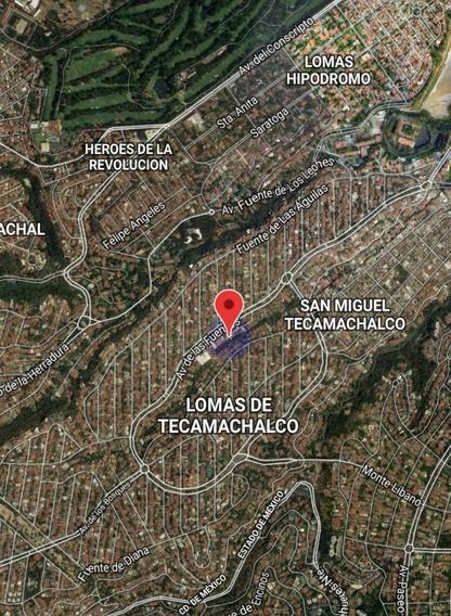 Terreno En Venta Lomas De Tecamachalco Huixquilucan