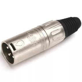 Plug Xlr Macho Santo Angelo L3mnn01
