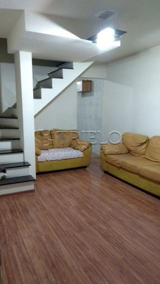 Venda-casa Em Condominio Com 02 Dorms-01 Vaga-cesar De Souza-mogi Das Cruzes-sp - V-2072