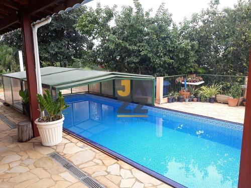 Chácara Com 4 Dormitórios À Venda, 1340 M² Por R$ 900.000,00 - Chácara Portal Das Estâncias - Bragança Paulista/sp - Ch0453