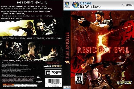 Resident Evil 5 Pc - Português