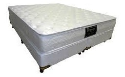 Somier Sommier Espuma D36 Doble Pillow 160x200 Deseos