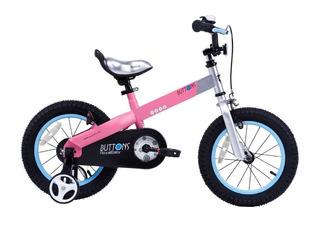 Bicicleta Infantil Royal Baby Buttons Aluminio 12 Niña Niño