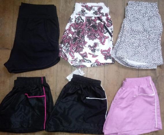 Kit 8 Shorts Femininos Todos Tamanhos Frete Grátis Atacado