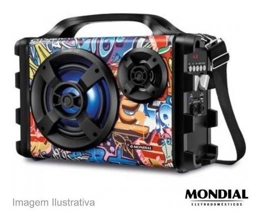 Caixa De Som Bluetooth® 100w Thunder Xii Mondial Mco-12