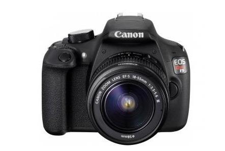 Câmera Digital Canon Eos Rebel T5 18-55 Iii 18mp - Semiprofi