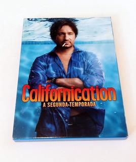 Dvds Originais Série Californication - 2a Temporada Completa