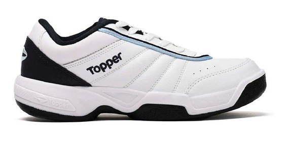 Zapatillas Topper Tie Break 3 Bla/azu Unisex