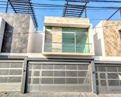 Casa En Venta 3 Habitaciones Con Roof Garden Cerca Del Centro De Veracruz, Ver.