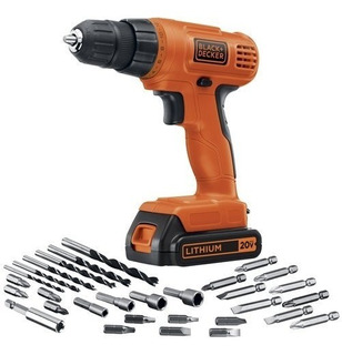 Taladro Inalambrico Black & Decker 20-volt Max Lithium Drill