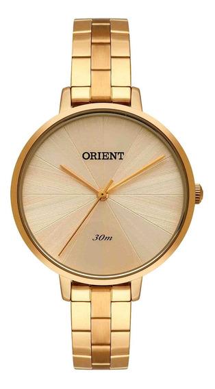 Relógio Orient Feminino Fgss0146 C1kx Dourado - Refinado