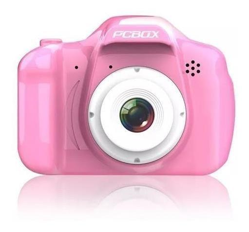 Cámara Fotográfica Pcbox Click Rosa