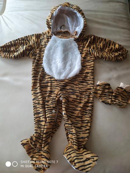Disfraz Tigre 12-18 Meses
