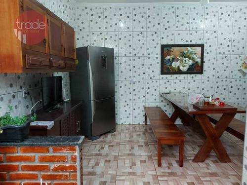 Casa Com 3 Dormitórios À Venda, 125 M² Por R$ 275.000,00 - Planalto Verde - Ribeirão Preto/sp - Ca4154