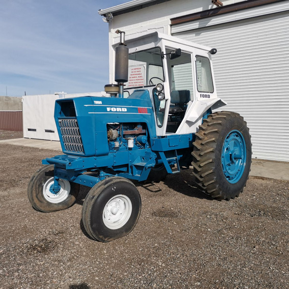 Tractor Agricola Ford 8000 De 105 Hp