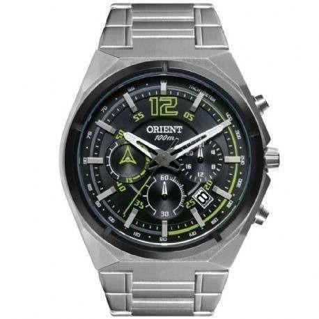 Relógio Orient Masculino Cronógrafo Calendário . R