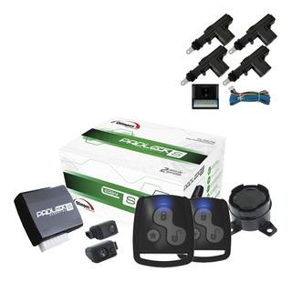 Alarme Carro Olimpus Easy Padlock + Trava Eletrica 4 Portas