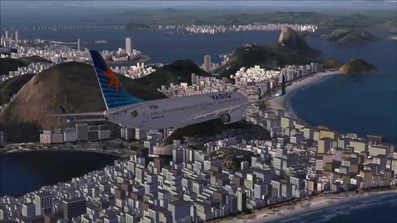 Mega Cenário Rio De Janeiro - Para Fsx E Prepar3d