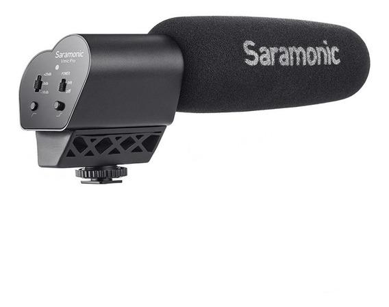 Microfone Direcional Para Cameras Saramonic Vmic - Temosloja