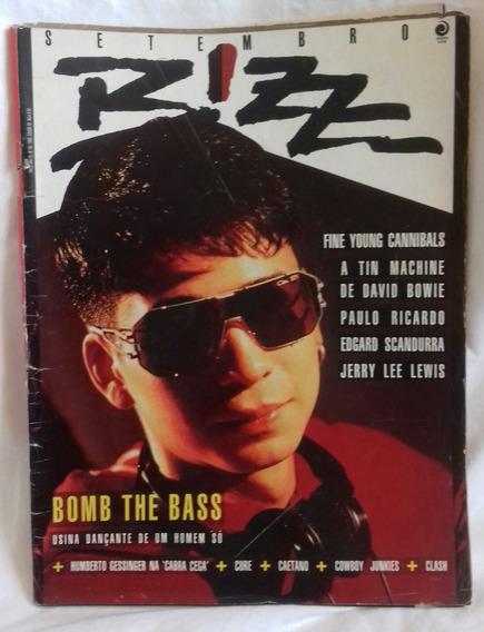 Revista Bizz N.º 50 - Bomb The Bass - Extremamente Rara