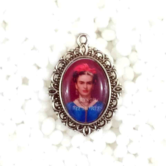 Medalla Dije Cobre Plateado Camafeo Personalizado Con Foto