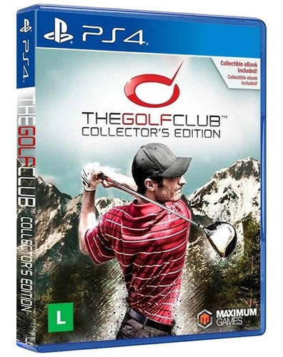 Imagem 1 de 7 de The Golf Club Collector's Edition - Ps4 Mídia Física Nova
