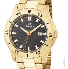 Relógio Champion Original Dourado Masculino Ca31337u C/ Nfe