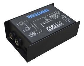 4 Unid Direct Box Wireconex Wdi-600 Passivo Profissional