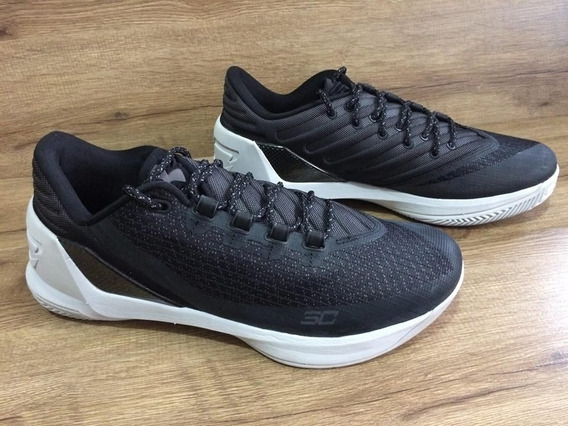 Tênis Under Armour Curry 3 Low Preto Original Basquete