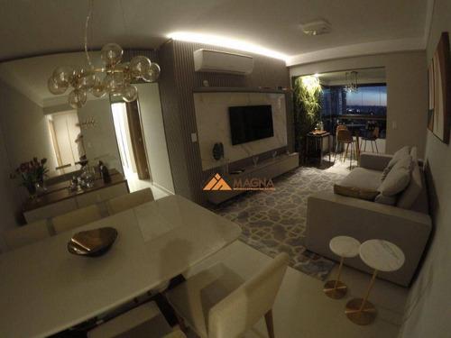 Apartamento À Venda, 77 M² Por R$ 635.000,00 - Jardim Irajá - Ribeirão Preto/sp - Ap4597