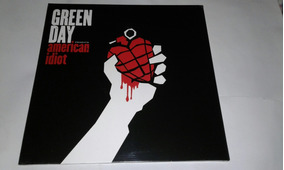Lp Green Day American Idiot Vinil Duplo Importado Eu
