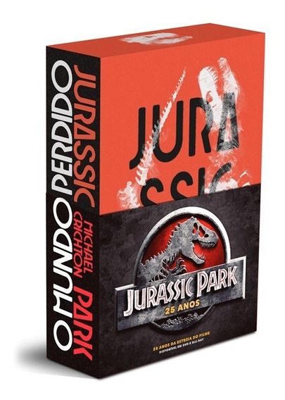 Box Jurassic Park 25 Anos - Aleph