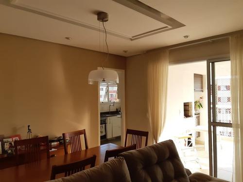 Apartamento Com 3 Dormitórios 1 Suíte 96 M² 2 Vagas Ao Lado Estação Metrô Campo Limpo - Ap00082 - 68863937